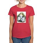 Chinese Owl Pigeons Women's Dark T-Shirt
