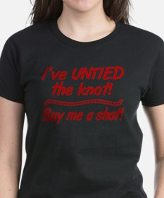 Untied The Knot Buy Me A Shot T-Shirt