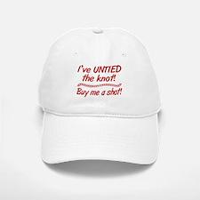 Untied The Knot Buy Me A Shot Baseball Baseball Baseball Cap