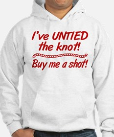 Untied The Knot Buy Me A Shot Hoodie