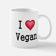 I LOVE VEGAN Mug