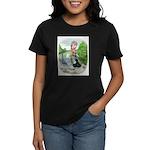 Assorted Trio Pigeons Women's Dark T-Shirt