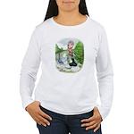 Assorted Trio Pigeons Women's Long Sleeve T-Shirt