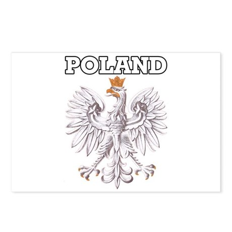 Poland! Postcards (Package of 8)
