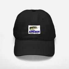 Black Fishing Baseball Cap