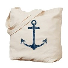 Retro Anchor Tote Bag
