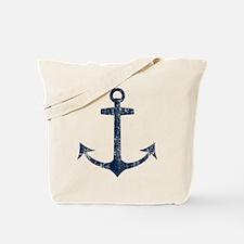 Retro Anchor Tote Bag