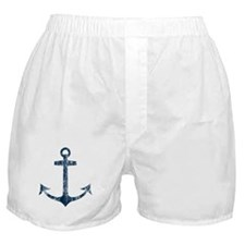 Retro Anchor Boxer Shorts