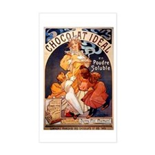 Vintage Poster Ads Rectangle Decal
