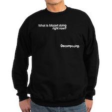 Mozart is decomposing Sweatshirt