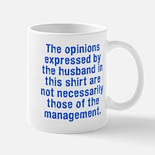 Opinions husband management Mug