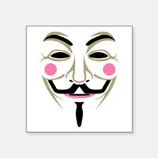 Guy Fawks Mask Sticker