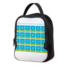 alphabet_mousepad.png Neoprene Lunch Bag