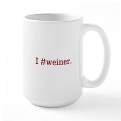 I #weiner. Mug