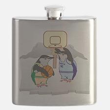 Penguin Basketball Flask