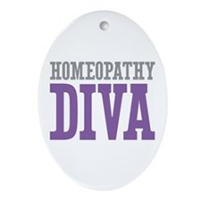 Homeopathy DIVA Ornament (Oval)