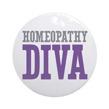 Homeopathy DIVA Ornament (Round)