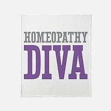 Homeopathy DIVA Throw Blanket