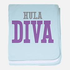 Hula DIVA baby blanket