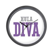 Hula DIVA Wall Clock
