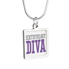 Ichthyology DIVA Silver Square Necklace