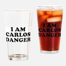 I Am Carlos Danger Drinking Glass