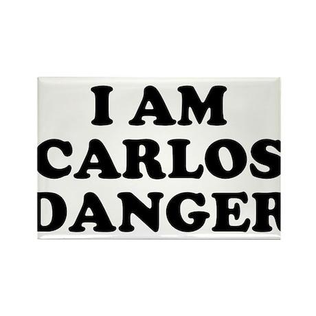I Am Carlos Danger Rectangle Magnet