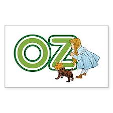 Vintage Wizard of Oz, Dorothy, Toto, Text Design S