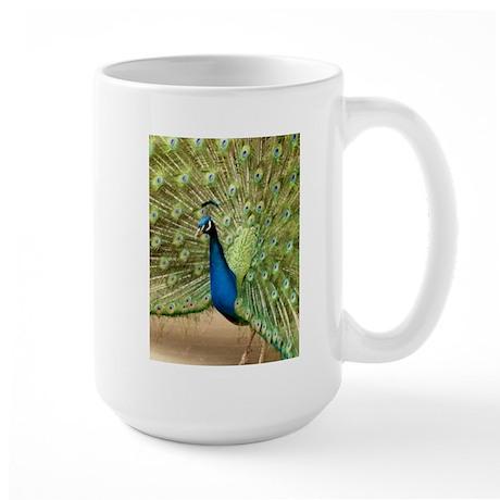Beautiful Peacock Mug By Allcolor