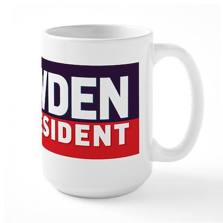 Snowden for Presdient Mug