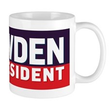 Snowden for Presdient Mug