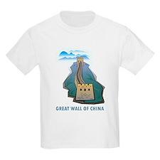 Great Wall Of China Kids T-Shirt