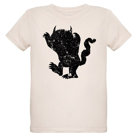 Wild things silhouette organic kids t shirt wild things for Kinkos t shirt printing
