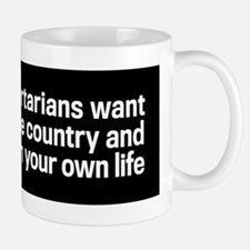 Those Evil Libertarians Small Small Mug
