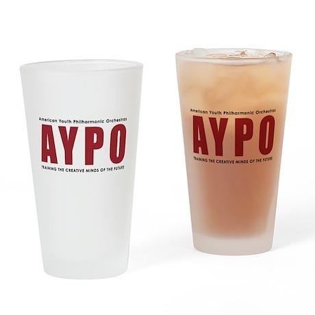 Aypo Color Logo Drinking Glass