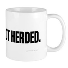 Be Heard, No Herded Mug