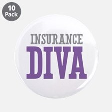 "Insurance DIVA 3.5"" Button (10 pack)"