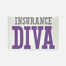Insurance DIVA Rectangle Magnet