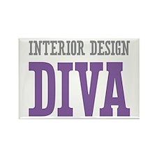 Interior Design DIVA Rectangle Magnet (100 pack)