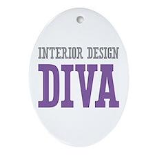 Interior Design DIVA Ornament (Oval)