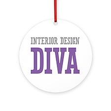 Interior Design DIVA Ornament (Round)