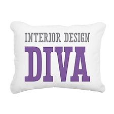 Interior Design DIVA Rectangular Canvas Pillow