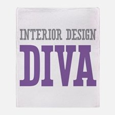 Interior Design DIVA Throw Blanket