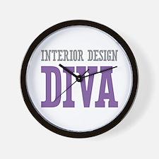 Interior Design DIVA Wall Clock