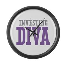 Investing DIVA Large Wall Clock