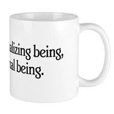 Man is a Rationalizing Being Mug