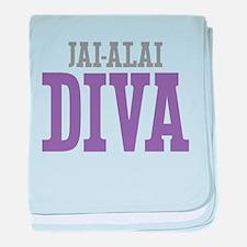 Jai-Alai DIVA baby blanket