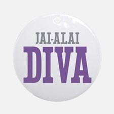 Jai-Alai DIVA Ornament (Round)
