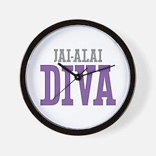 Jai-Alai DIVA Wall Clock