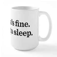 Go Back To Sleep Mug